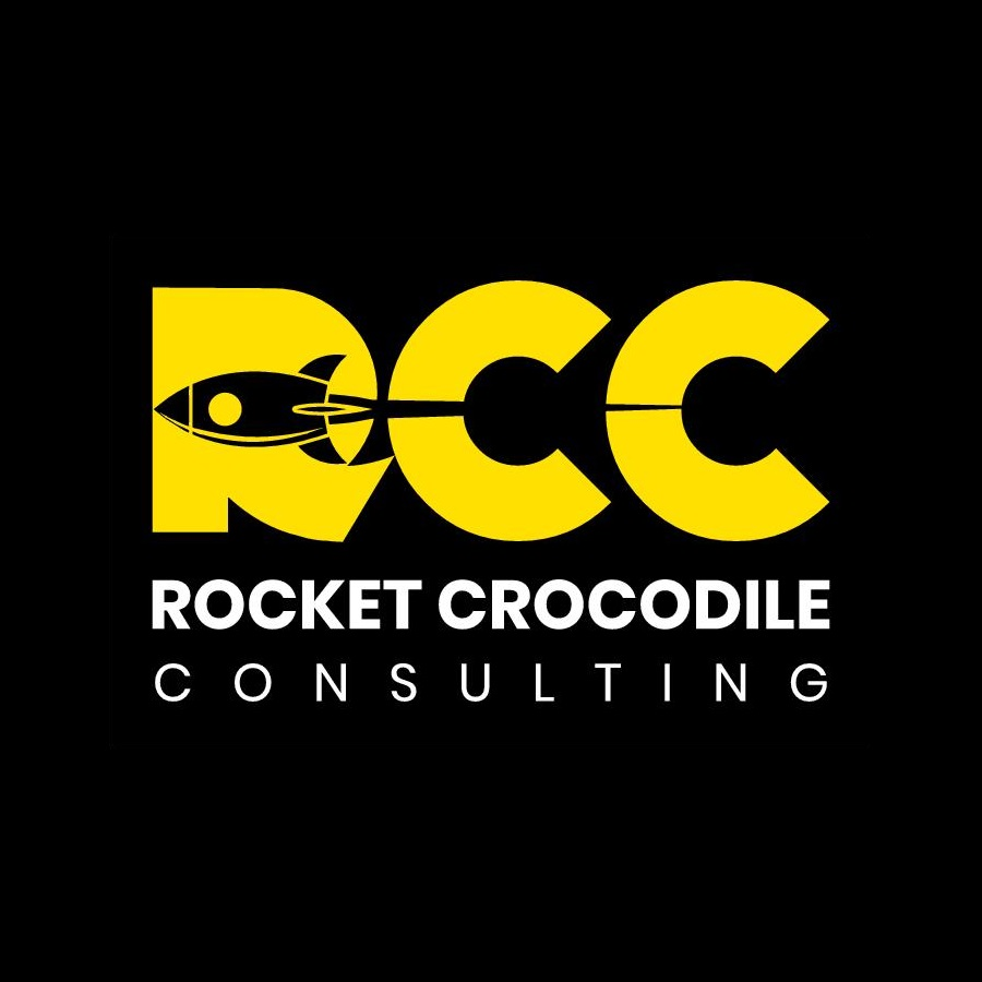 Rocket Crocodile Consulting Logo